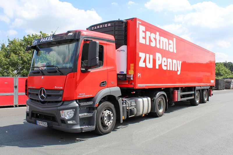 Pakel Gütertransporte GmbH - Penny LKW